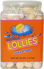 Double Lollies 160ct Tub