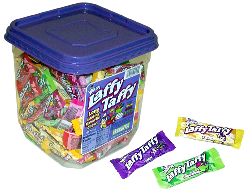 Laffy Taffy Tub Candy Taffy 145ct