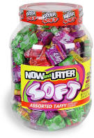 Now & Later Soft Assorted Tub Candy 120ct