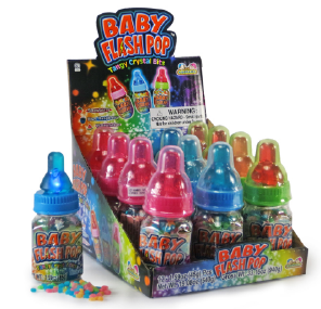 Kidsmania Baby Flash Pop Display 12ct