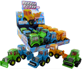 Kidsmania Bubble Dozer Display 12ct