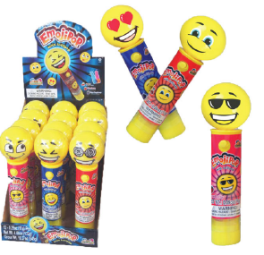 Kidsmania Emoji Pop Candy Displays 12ct
