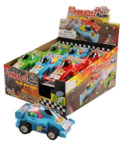 Kidsmania Formula 1 Racer Candy Displays 12ct