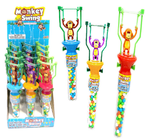 Kidsmania Monkey Swing Candy Displays 12ct