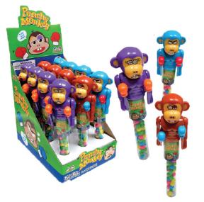 Kidsmania Punchy Monkey Candy Displays 12ct