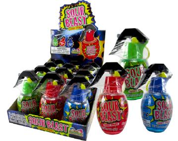 Kidsmania Sour Blast Candy Displays 12ct