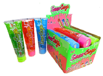 Kidsmania Sour Ooze Tube Candy Displays 12ct