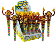 Kidsmania Wacky Monkey Candy Displays 12ct